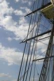 Aparejo alto de la nave Imágenes de archivo libres de regalías