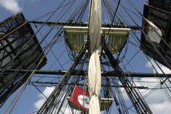 Aparejo alto de la nave Imagenes de archivo
