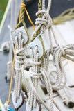 Aparejo de la nave Imágenes de archivo libres de regalías