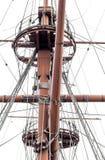 Aparejo de la nave Fotografía de archivo