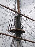 Aparejo de la nave Imagen de archivo