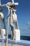 Aparejo de la nave Foto de archivo libre de regalías
