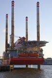 Aparejo en el puerto Imagen de archivo