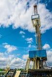 Aparejo para los pozos del petróleo y gas de la perforación Imagenes de archivo