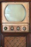 Aparelho de televisão do vintage imagens de stock royalty free