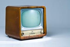 Aparelho de televisão velho Fotos de Stock Royalty Free