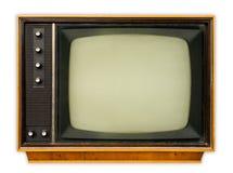 Aparelho de televisão do vintage Fotos de Stock