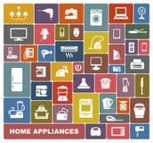 Aparelhos electrodomésticos Imagens de Stock