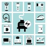 aparelhos electrodomésticos Imagem de Stock
