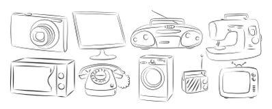 aparelhos electrodomésticos Fotos de Stock