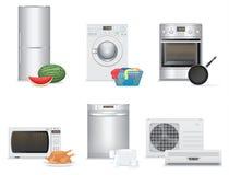 aparelhos electrodomésticos Fotografia de Stock Royalty Free