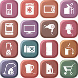 Aparelhos electrodomésticos Fotografia de Stock