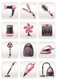 Aparelhos electrodomésticos para a cozinha Fotos de Stock Royalty Free