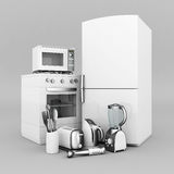 Aparelhos eletrodomésticos Imagens de Stock