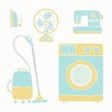 Aparelhos eletrodomésticos ajustados Imagem de Stock Royalty Free