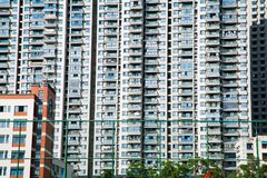 Aparment Buildings in City Royalty Free Stock Images