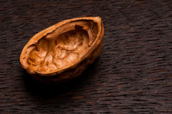 Apart single walnut Stock Photo