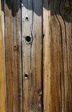 Apartadero de madera vertical Imagenes de archivo