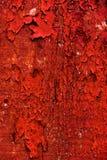 Apartadero rojo de la pared del granero Imágenes de archivo libres de regalías