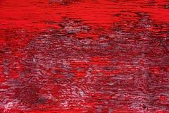 Apartadero rojo de la pared del granero Imagen de archivo