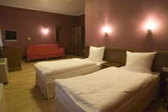 apartament hotelowy wewnętrznego Obraz Royalty Free