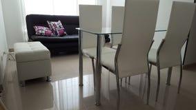 Apartament minimalist Arkivfoto