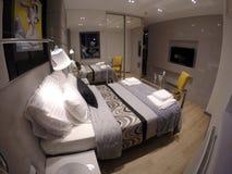 Apartamento acogedor en el centro de Gdansk Imagen de archivo libre de regalías