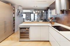 Apartamento bonito fornecido Foto de Stock