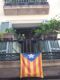 Apartamento catalán fotos de archivo libres de regalías