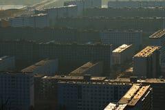 Apartamento de East Germany imagens de stock