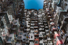 Apartamento de la ciudad de Hong Kong Fotos de archivo libres de regalías
