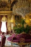 Apartamento de Napoleon III, Louvre Paris Fotos de Stock Royalty Free