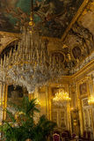 Apartamento de Napoleon III, Louvre Paris Imagem de Stock