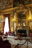 Apartamento de Napoleon III, Louvre Paris Fotografia de Stock Royalty Free