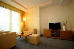 Apartamento do hotel Foto de Stock Royalty Free