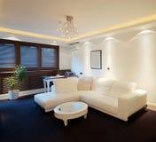 Apartamento do hotel Imagens de Stock