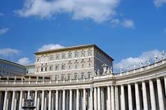 Apartamento do papa Fotos de Stock