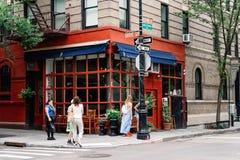 Apartamento dos amigos na comédia americana da televisão em New York imagens de stock royalty free