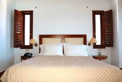 Apartamento en el hotel de lujo Foto de archivo