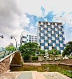 Apartamento en parque hermoso Fotografía de archivo