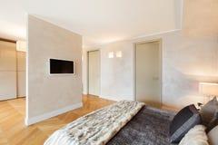 Apartamento hermoso equipado Foto de archivo