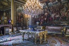 Apartamento interno del emperador, Fontainebleau Imagenes de archivo