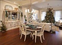 Apartamento luxuoso do Natal Fotos de Stock Royalty Free