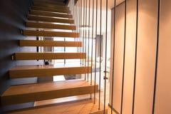 Apartamento modernista Imagem de Stock Royalty Free