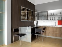 Apartamento moderno Imagen de archivo