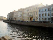 Apartamento Museum de Pushkin, St Petersburg Fotos de Stock