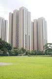 Apartamento residencial da carcaça fotos de stock