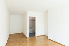 Apartamento, sala vazia Imagens de Stock
