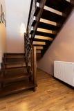 Apartamento urbano - escadaria moderna fotografia de stock royalty free