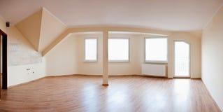 Apartamento vacío foto de archivo